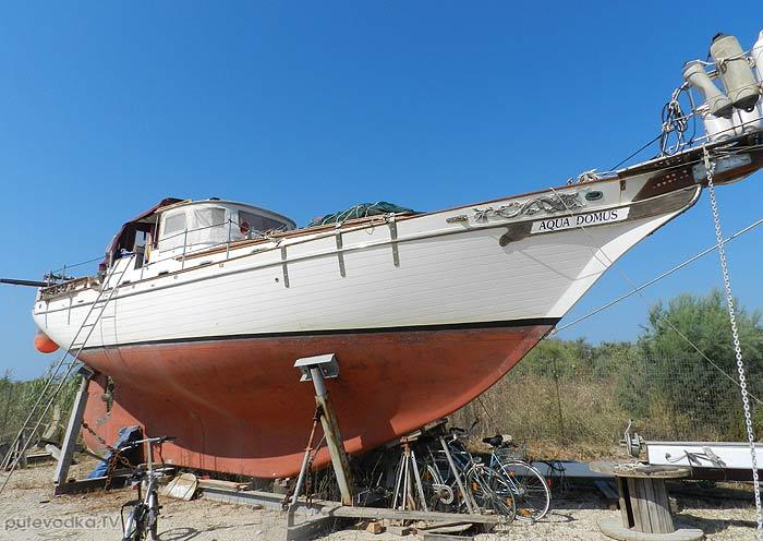 Греция. Патрасский залив. Яхта «Пепелац». Месолонги.