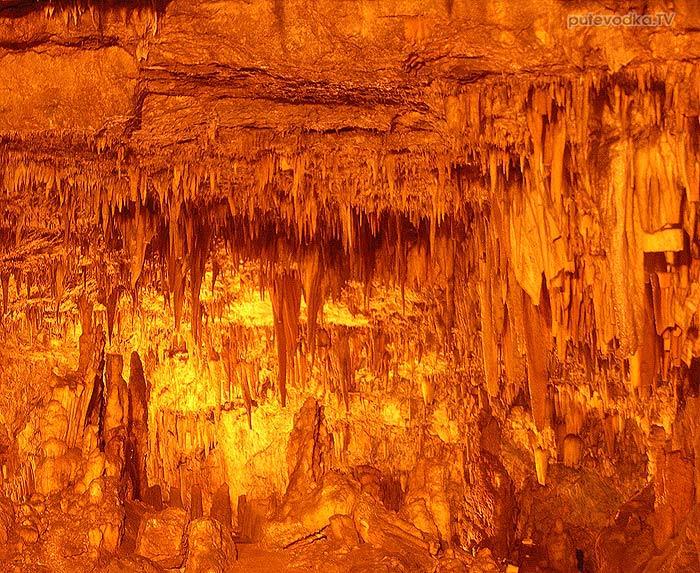 Яхта Пепелац. Греция. Ионическое море. Кефалония. Пещера Дрогорати.