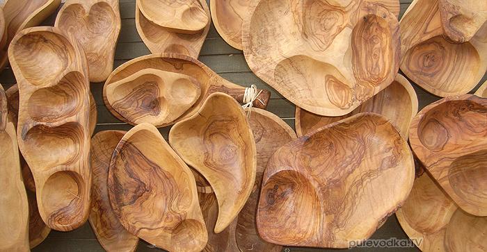 Греция. О-в Закинтос. Красота из оливкового дерева.