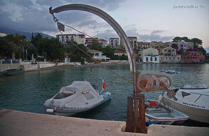 Яхта Пепелац. Греция. Ионическое море. Кефалония. Ассос.