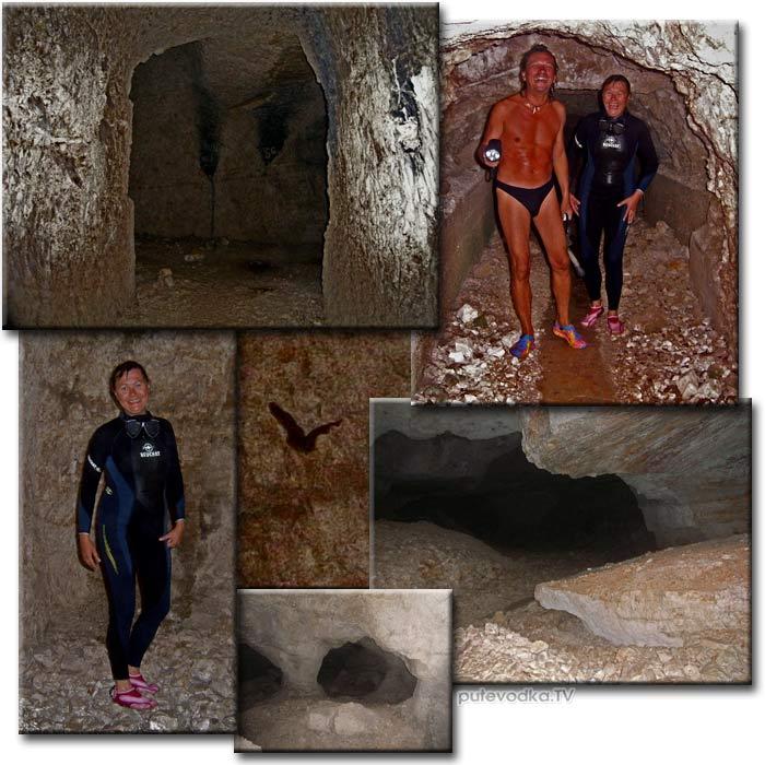 Остров Кефалония. Фискардо. Пещера.