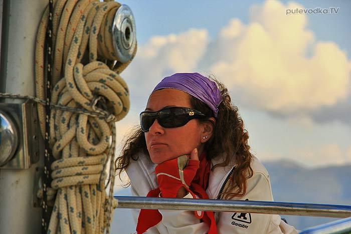 Греция. Ионическое море. Яхта ПЕПЕЛАЦ. Мы.