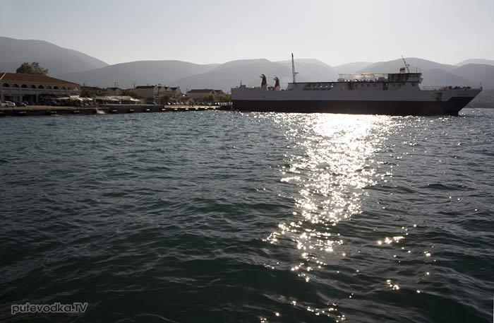 Греция. Ионическое море. О-в Кефалония. Сами.