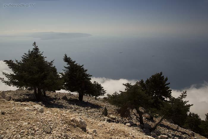 Греция. Ионическое море. О-в Кефалония. Национальный парк Энос.