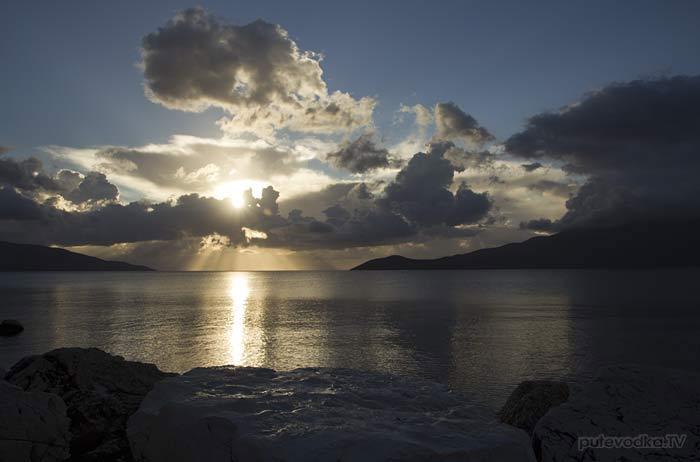 Греция. Ионическое море. О-в Кефалония. Св.Ефимия.