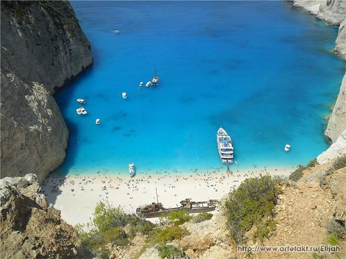 Греция. Ионическое море. О-в Закинтос. Залив Навайо (Шипрек).