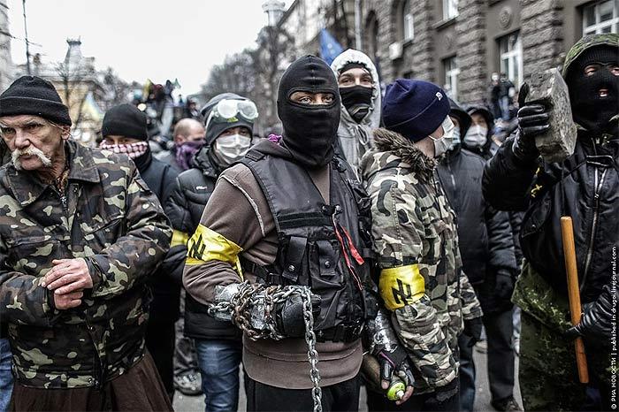 Украинские евробандиты В.Кличко