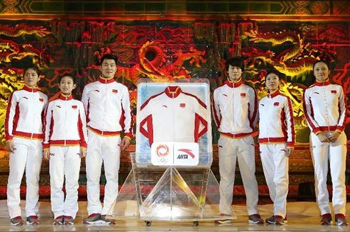 Китайская олимпийская сборная в Сочи 2014