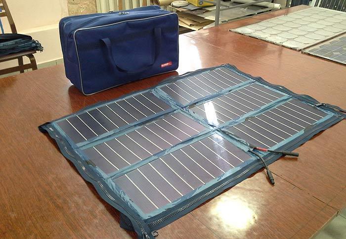 Новые мощные складные солнечные панели