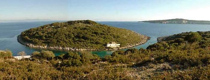 Яхта «Пепелац». Судовой журнал. Греция. Остров Калтсониси.