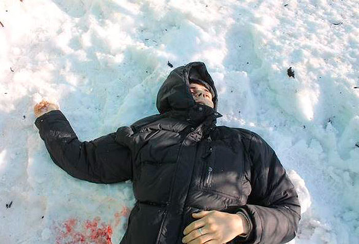 Грэм Филлипс. Обстрел Донецка еврокарателями 13.01.2015.