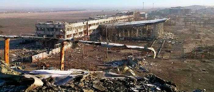 Останки донецкого аэропорта