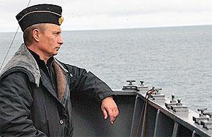 Путин— моряк