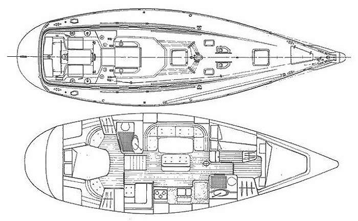 Яхта Grand Soleil 45