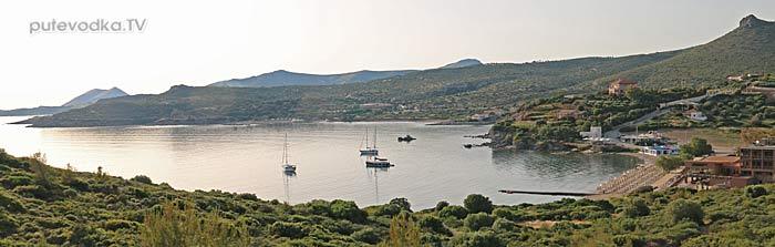 Путеводка. Яхтинг. Греция. Сунион.