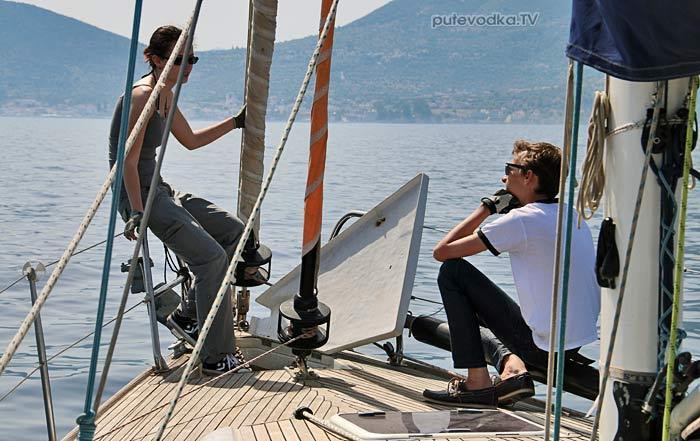 Путеводка. Яхтинг. Греция. Сароники.