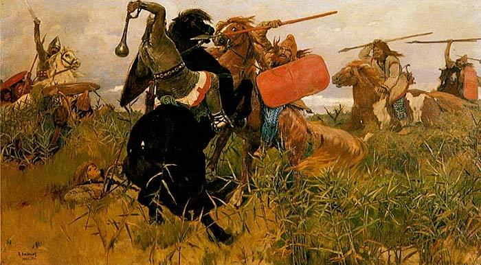 В.М.Васнецов. Битва русских со скифами. 1881 г. Холст, масло.