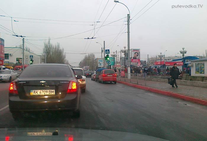 Россия. Крым. Трасса Симферополь— Керчь. Керчь.