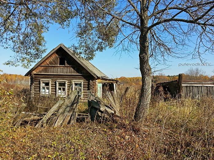 Заброшенная деревня Азарово