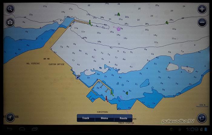 Морской GPS-навигатор на защищенном планшете (трансформере) + бесплатный навигационный софт