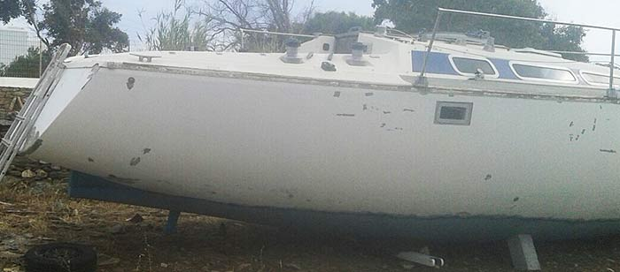 Яхта «Пепелац». Реновация. Корпус.