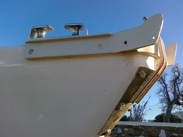 Яхта «Пепелац». Реновация. Нос.