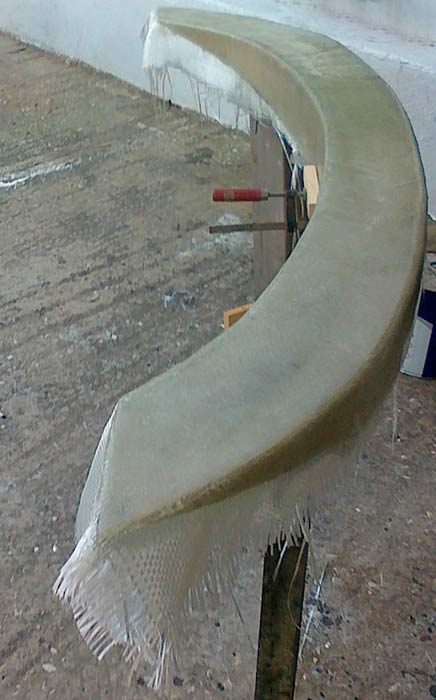 Яхта «Пепелац». Реновация. Корма.