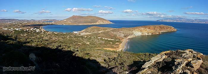 Панорамный вид на залив Мармара и мыс Кратзи