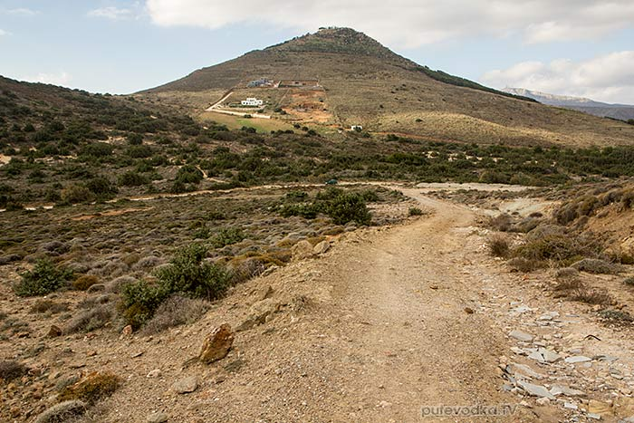 Дорога на мыс Кратзи (оглянувшись назад)
