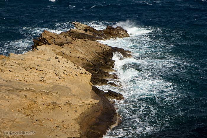 Берег залива Мармара недалеко от мыса Кратзи