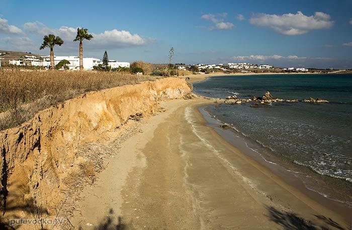Дриос. Пляж.