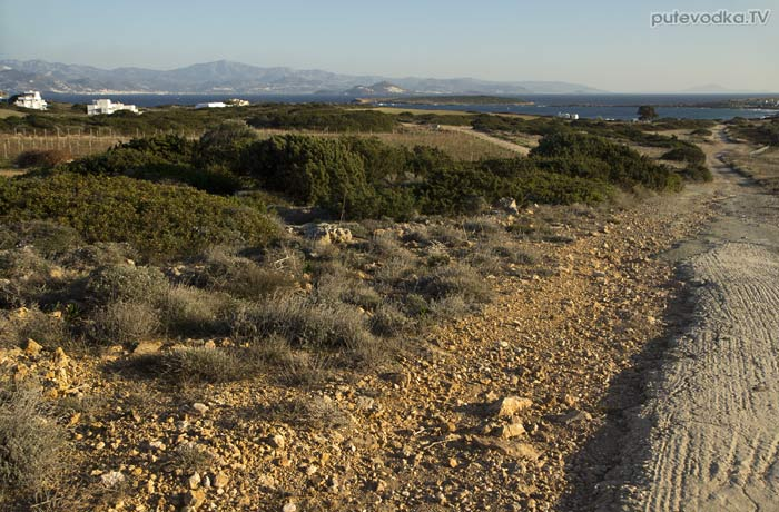 Дорога к Наусскому заливу