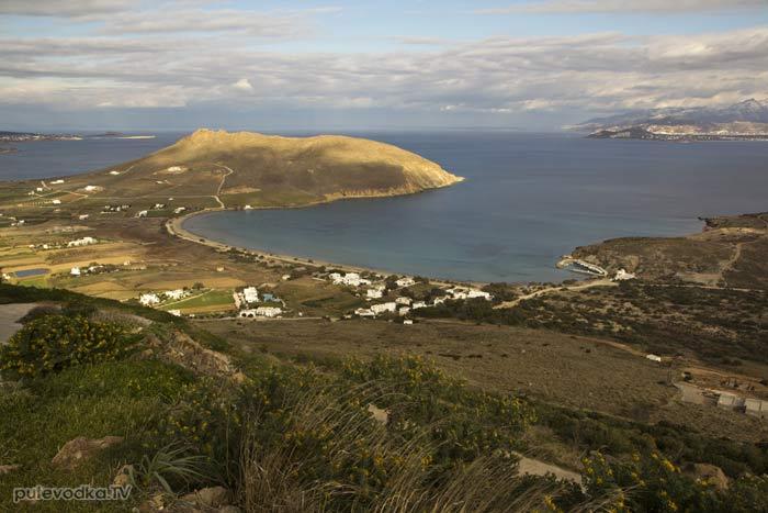 Вид от монастыря на залив Мармара