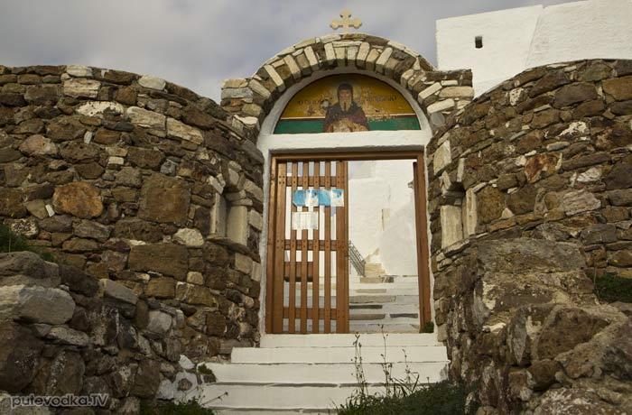 Ворота монастыря Св. Антония