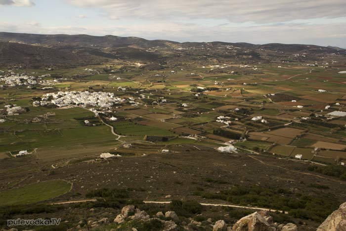 Вид от монастыря на пос. Мармара