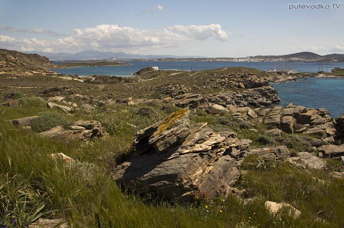 Вид на Наусскую бухту от местечка Алонаки