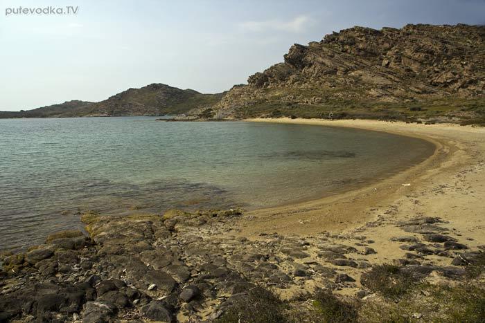 Парос-парк. Пляж Турко Аммос.