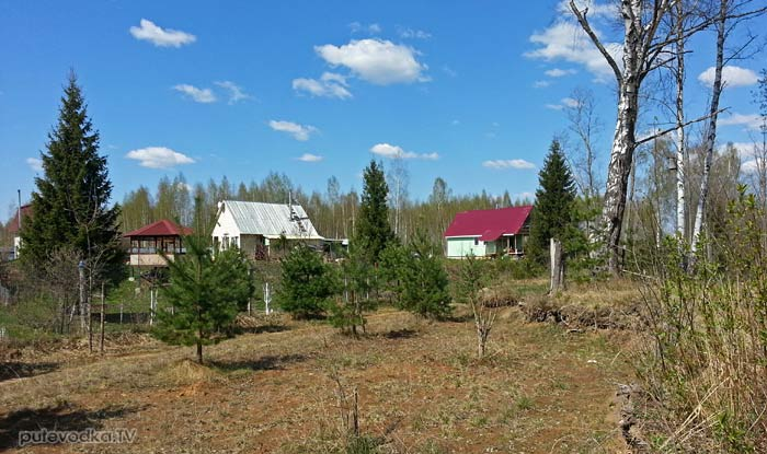 Деревня Новотроица