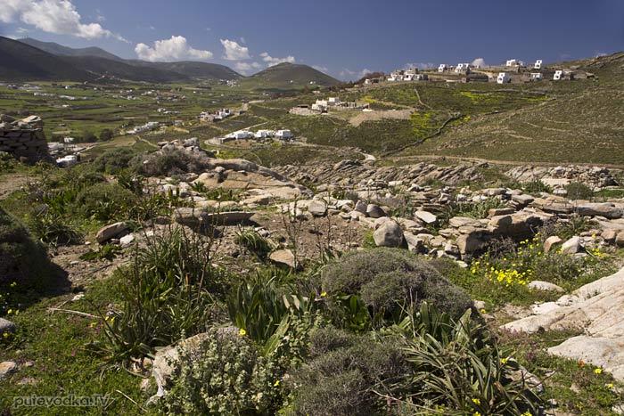 Вид с холма на юго-запад
