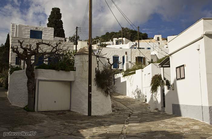 Греция. Остров Парос. Лефкес.