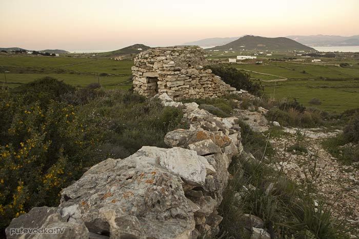 Остров Парос. Византийская тропа возле пос. Продромос.
