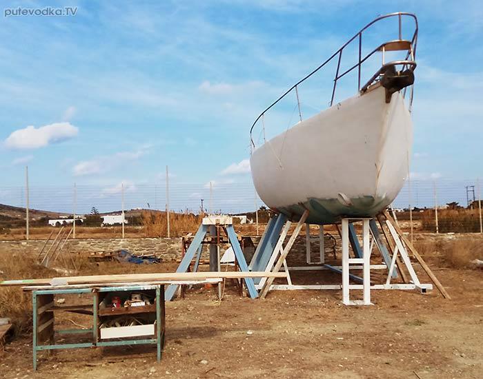 Яхта ПЕПЕЛАЦ. Ремонт киля.