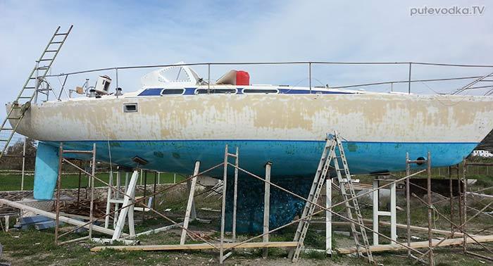 Яхта ПЕПЕЛАЦ. Лето 2017.