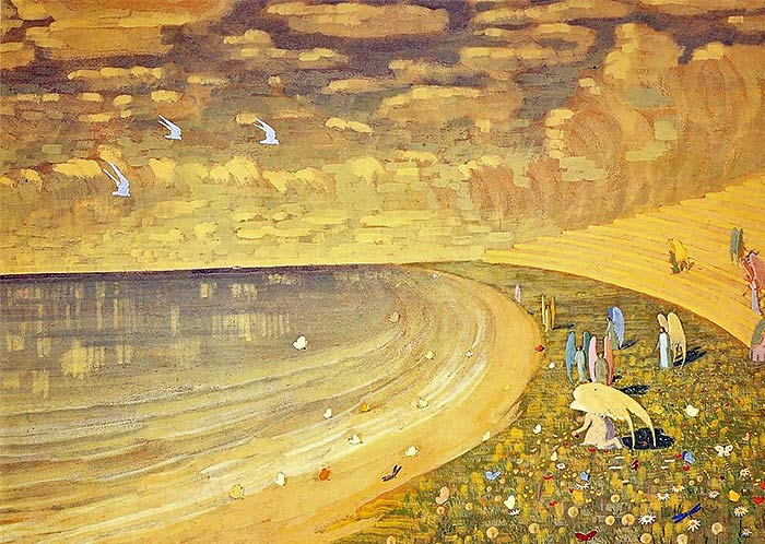 Николай Константинович Чурлянис. «Рай». 1909 г.