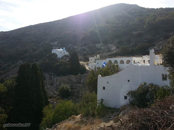 Греция. Остров Парос. Монастырь Св. Георгия.