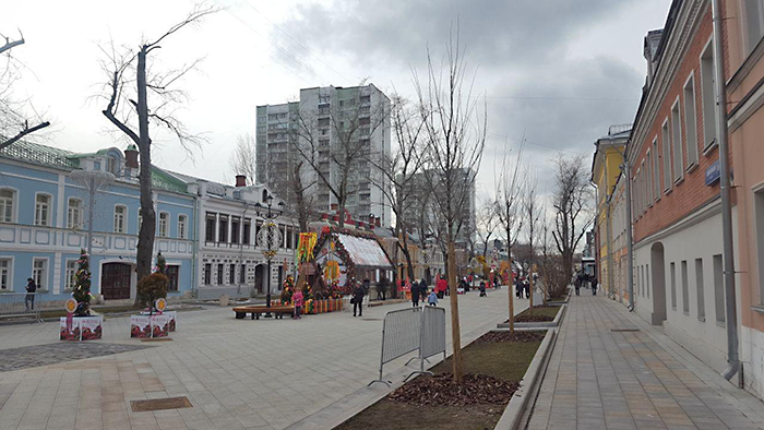 Москва, ул.Школьная