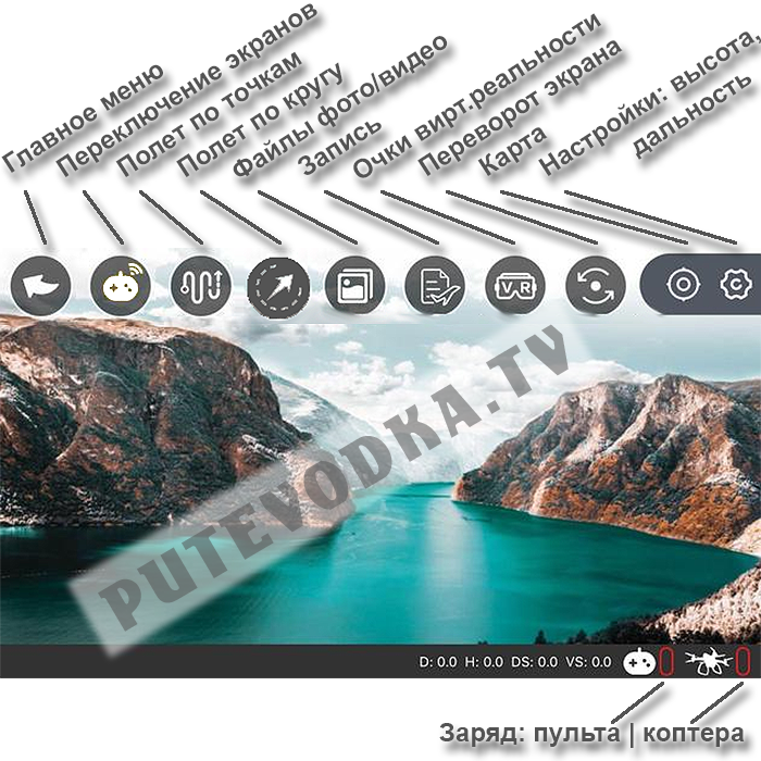 Приложение CSJ GPS. Инструкция на русском языке