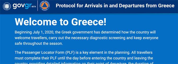 PLF форма, Греция
