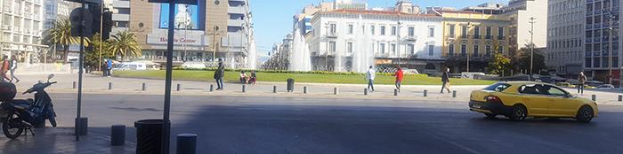 Афины. Улицы. COVID.