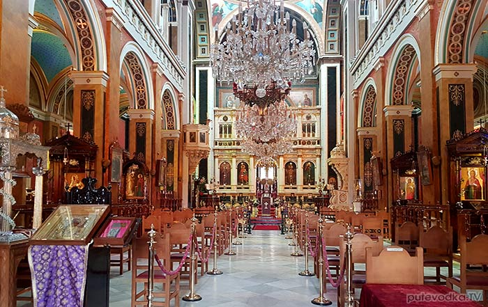 Остров Сирос. Эрмуполис. Храм Св. Николая.